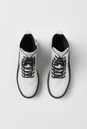 H&M Snow Boots white-black