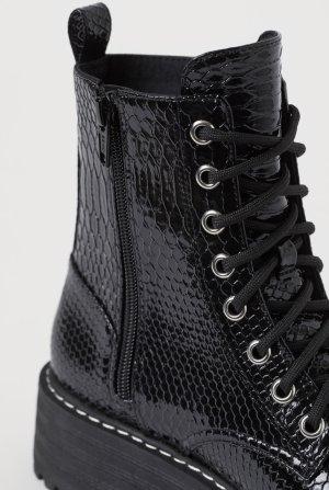 H&M Snow Boots black