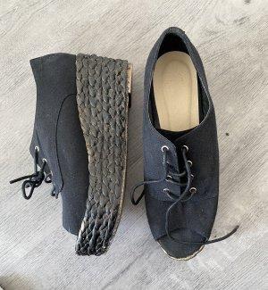 Asos Sandalias de tacón con plataforma negro