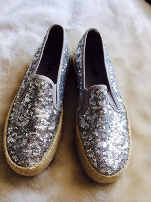 Slip-on Shoes silver-colored-dark yellow