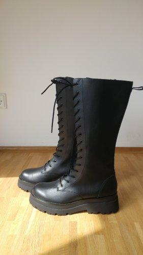 Stradivarius Combat Boots black