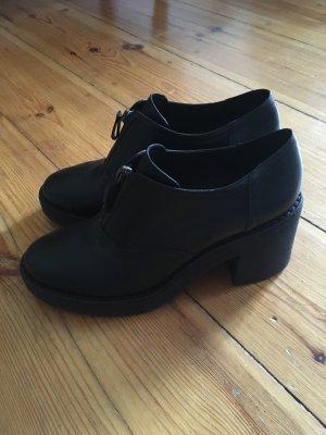 Plateau Halbschuh Slipper Boots