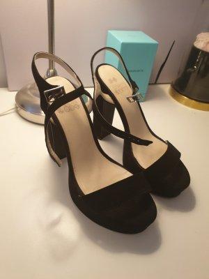 Even & Odd Platform High-Heeled Sandal black