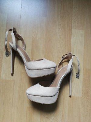 Plateau High heels von Asos