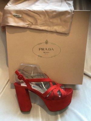 Plateau Pumps Prada