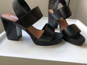 & other stories Platform High-Heeled Sandal black