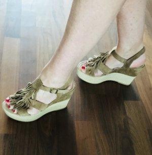 5th Avenue Plateauzool sandalen lichtbruin-licht beige