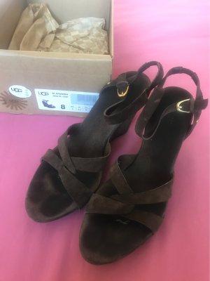 UGG Australia Sandales à plateforme brun