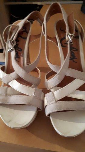 Replay Platform High-Heeled Sandal white-light grey