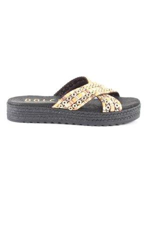 Platform High-Heeled Sandal multicolored casual look