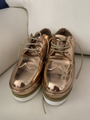Plateau-Schnürer Schuhe Sneaker von Asos Gr 36
