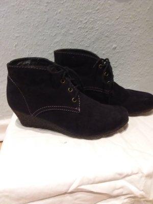 Depeche Lace Shoes dark blue