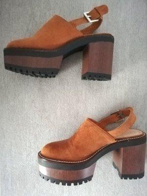 Pull & Bear Sandalo con plateau multicolore