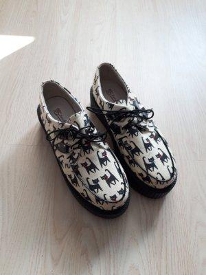 Heel Sneakers black-oatmeal