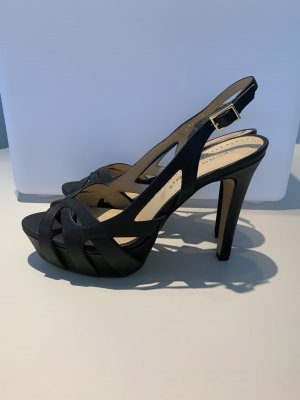 Bruno Premi Platform Pumps black leather
