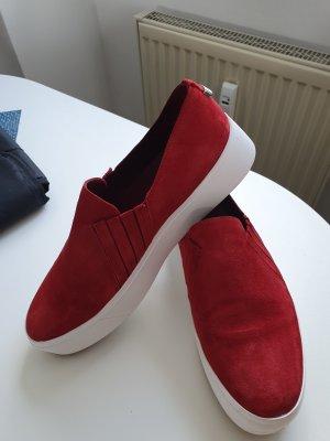 Calvin Klein Slip-on Sneakers red