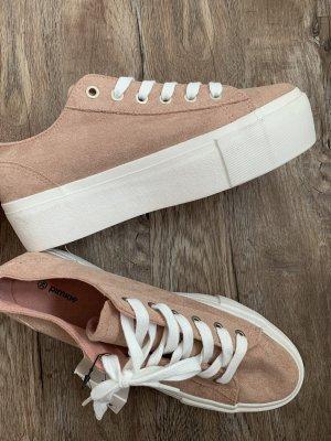 Plateau-Sneaker, Gr. 39, rosé, Neu