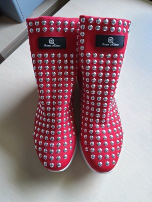 Plateau Sneaker mit Nieten Queen Helena Gr. 39
