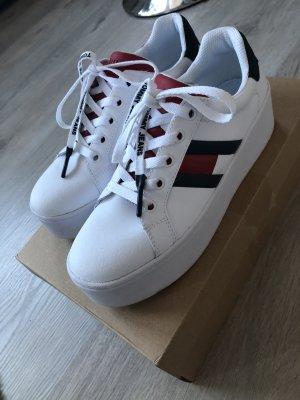 Tommy Hilfiger Sneakers met hak veelkleurig