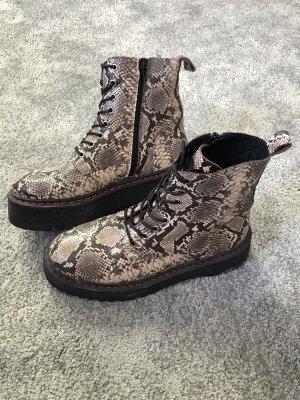 Catwalk Platform Boots black-brown