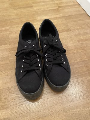 no name Lace-Up Sneaker black
