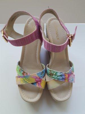 Catwalk Platform High-Heeled Sandal multicolored