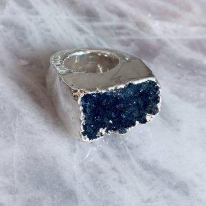 Platet Crystal Carved Ring Gemstone