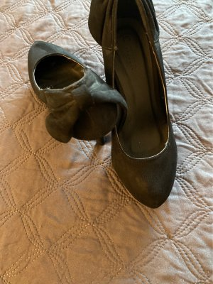 Chaussure à talons carrés noir