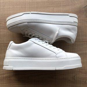Vagabond Chaussures à lacets blanc-blanc cassé cuir