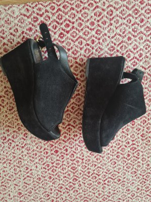 Platform Wedges*Leather*Apple of Eden