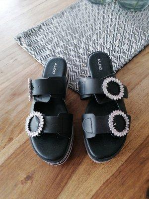 Aldo Platform High-Heeled Sandal multicolored