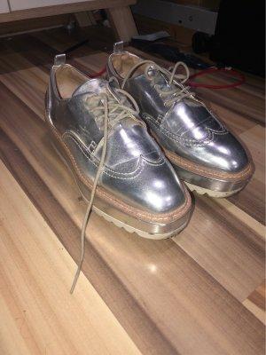 Plattform loafers von Zara