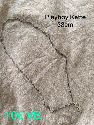 Playboy Chaîne en argent argenté