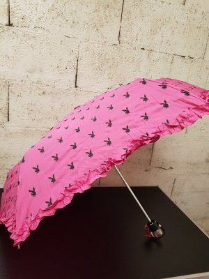 Playboy Folding Umbrella pink-neon pink