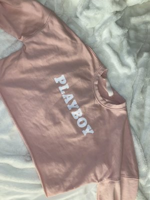 Playboy sweater cropped