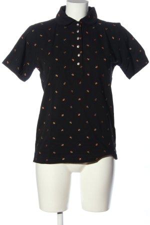 pleamle Polo shirt veelkleurig casual uitstraling