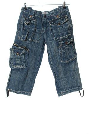 Please 3/4 Jeans blau Casual-Look