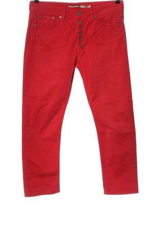 Please Vaquero 7/8 rojo look casual