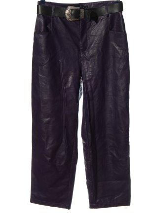 Please Baggy broek zwart casual uitstraling