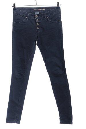 Please Jeans slim bleu style décontracté