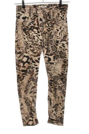 Please Jeans larghi motivo animale stile casual