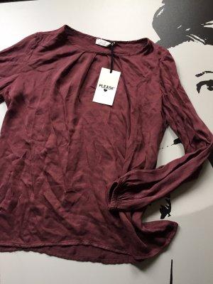Please Tunique-blouse bordeau
