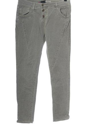 Please Jeans boyfriend grigio chiaro stile casual