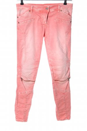 Please Bikerjeans pink Casual-Look