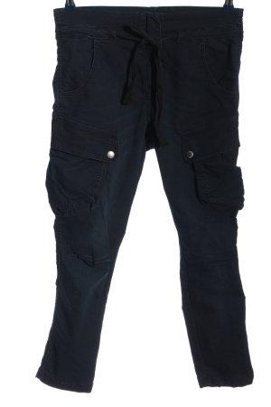 Please Pantalon cargo bleu style décontracté