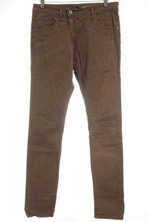 Please Chinohose beige Casual-Look