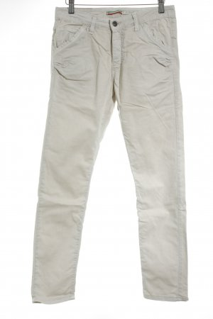 Please Chinohose creme Casual-Look