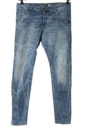 PLEASE Denim Jeans boyfriend bleu style décontracté