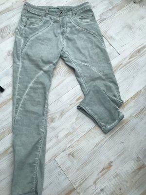 Please Pantalone boyfriend grigio chiaro