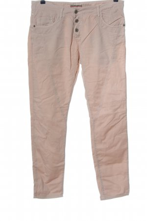 Please Five-Pocket Trousers nude casual look